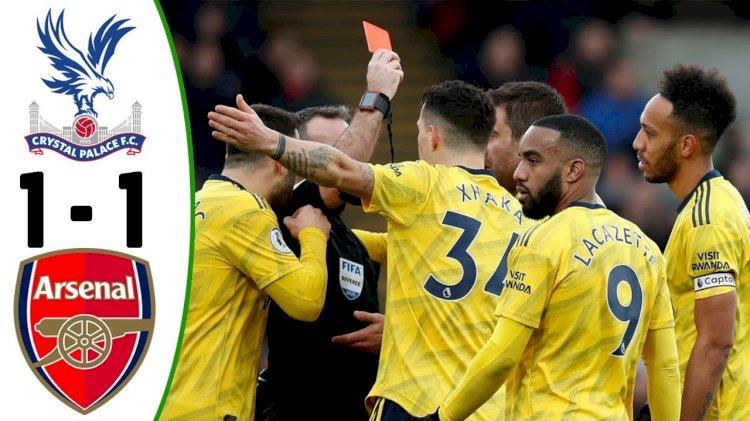 Crystal Palace vs Arsenal: Match Report, 11/01/2020