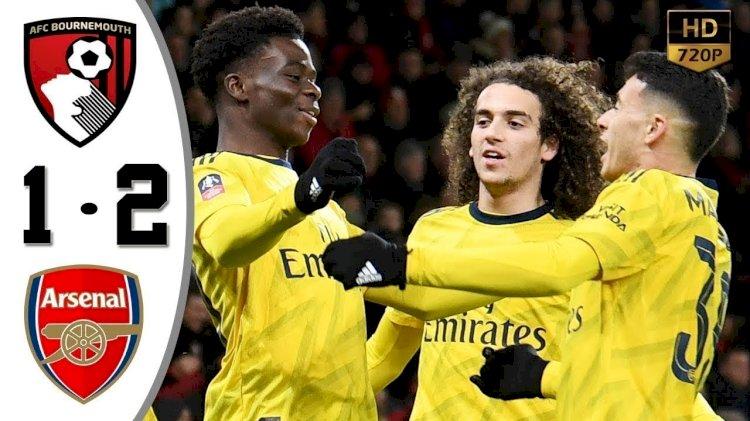 Bournemouth 1-2 Arsenal: Match Report, 27 Jan 2020