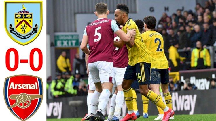 Burnley 0-0 Arsenal: Match Report 2 Feb 2020